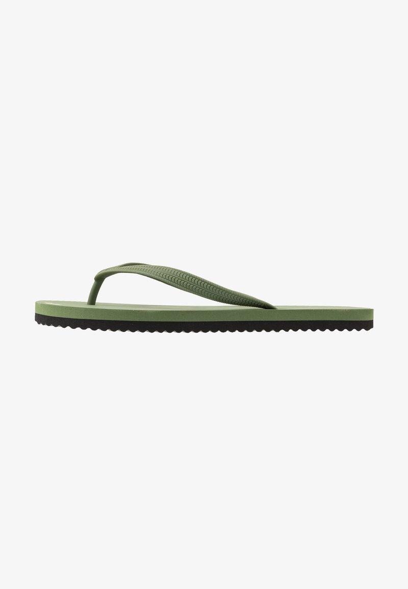 flip*flop - ORIGINALS BOLD - Japonki kąpielowe - olive/black