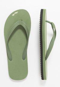 flip*flop - ORIGINALS BOLD - Japonki kąpielowe - olive/black - 1