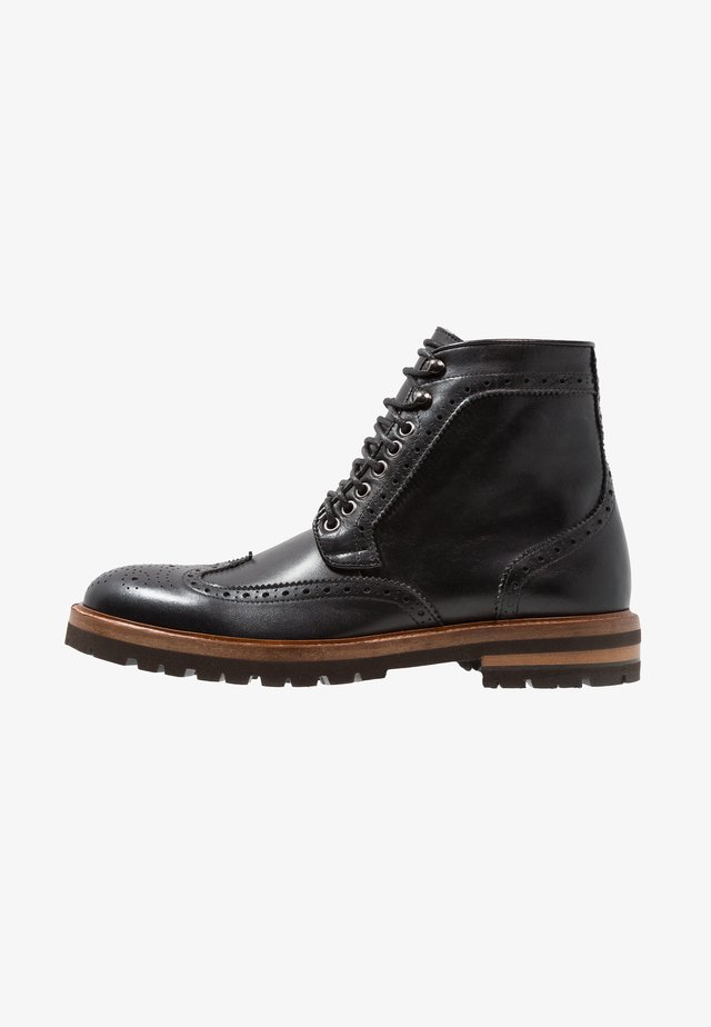 RICHARDS - Veterboots - black