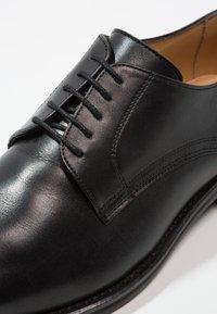 Florsheim - RUSSELL - Smart lace-ups - black - 5