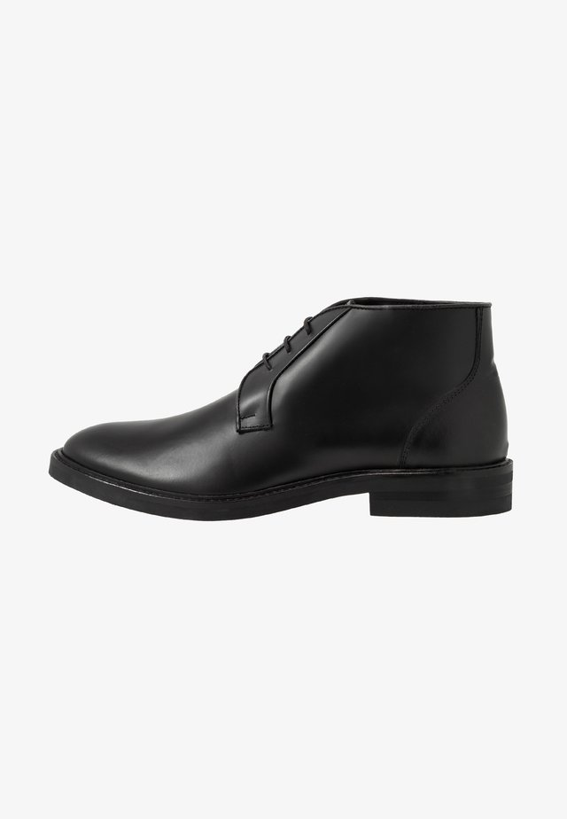 GIOTTO - Veterschoenen - black brush off