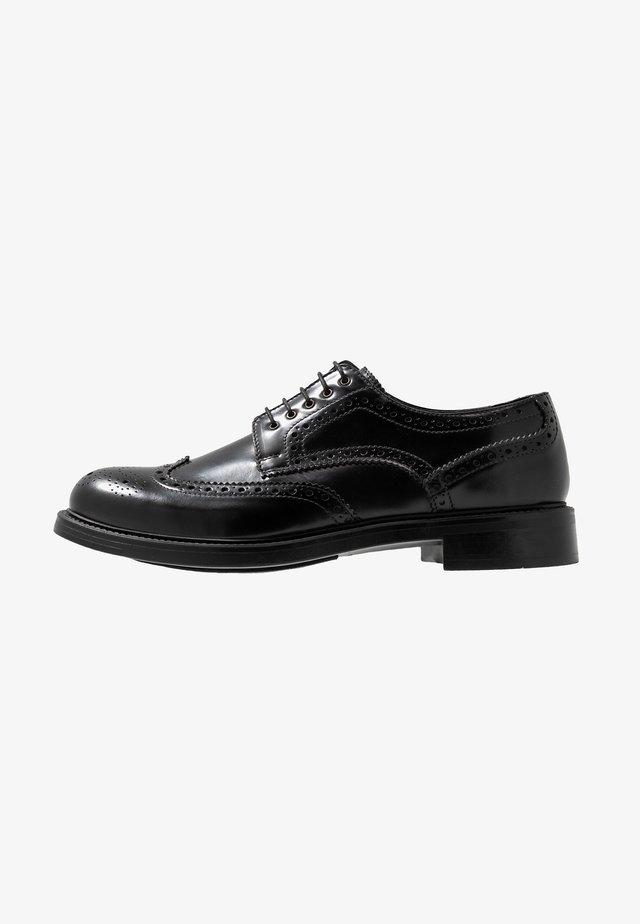 PICASSO - Šněrovací boty - black
