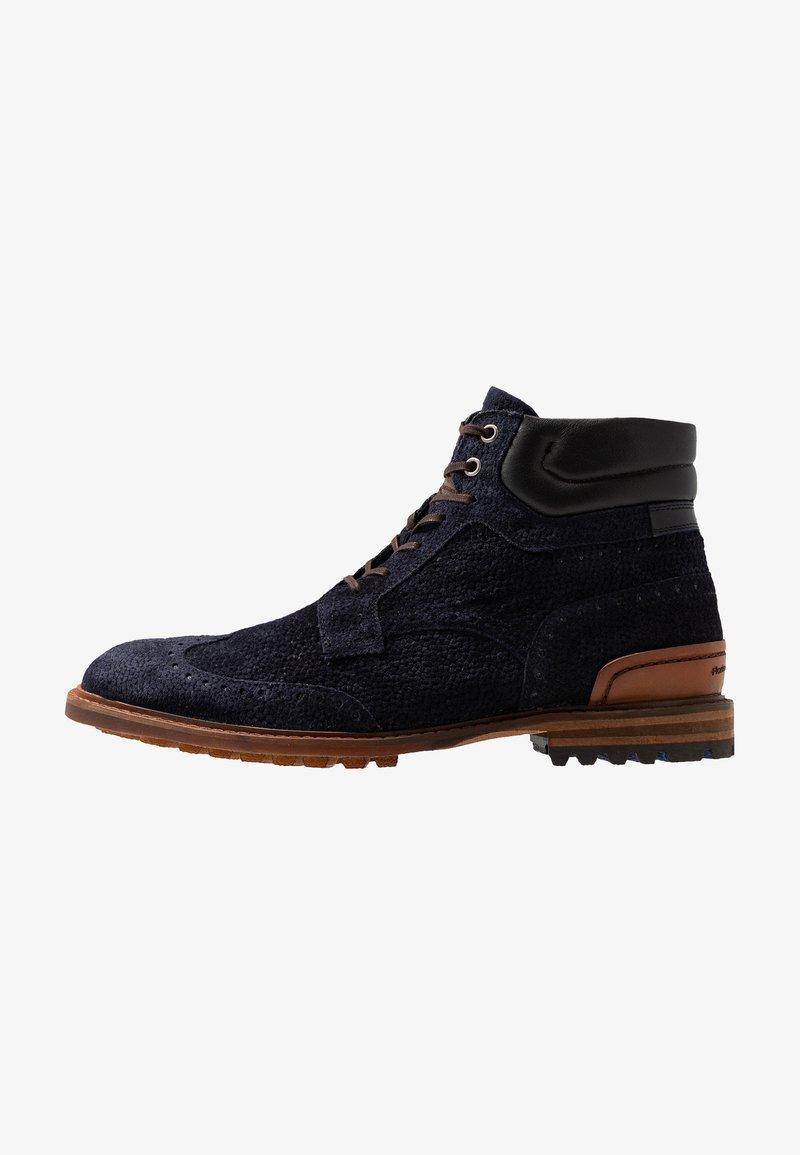 Floris van Bommel - CREPI CUP - Lace-up ankle boots - dark blue