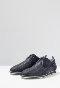 Floris van Bommel - PRESLI - Volnočasové šněrovací boty - dark blue - 2