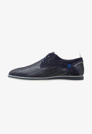 PRESLI - Volnočasové šněrovací boty - dark blue