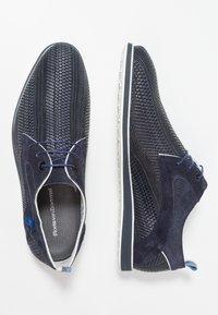 Floris van Bommel - PRESLI - Sporty snøresko - dark blue - 1
