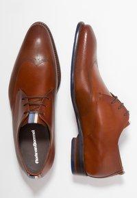 Floris van Bommel - Business sko - dark cognac - 1