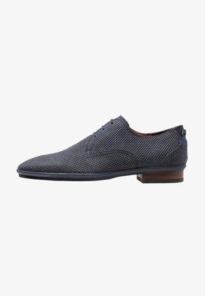 HAKKI - Elegantní šněrovací boty - dark blue
