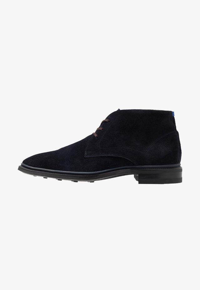 BUMPI - Volnočasové šněrovací boty - drak blue