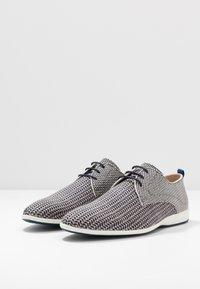 Floris van Bommel - Volnočasové šněrovací boty - grey - 2