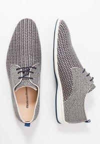 Floris van Bommel - Volnočasové šněrovací boty - grey - 1