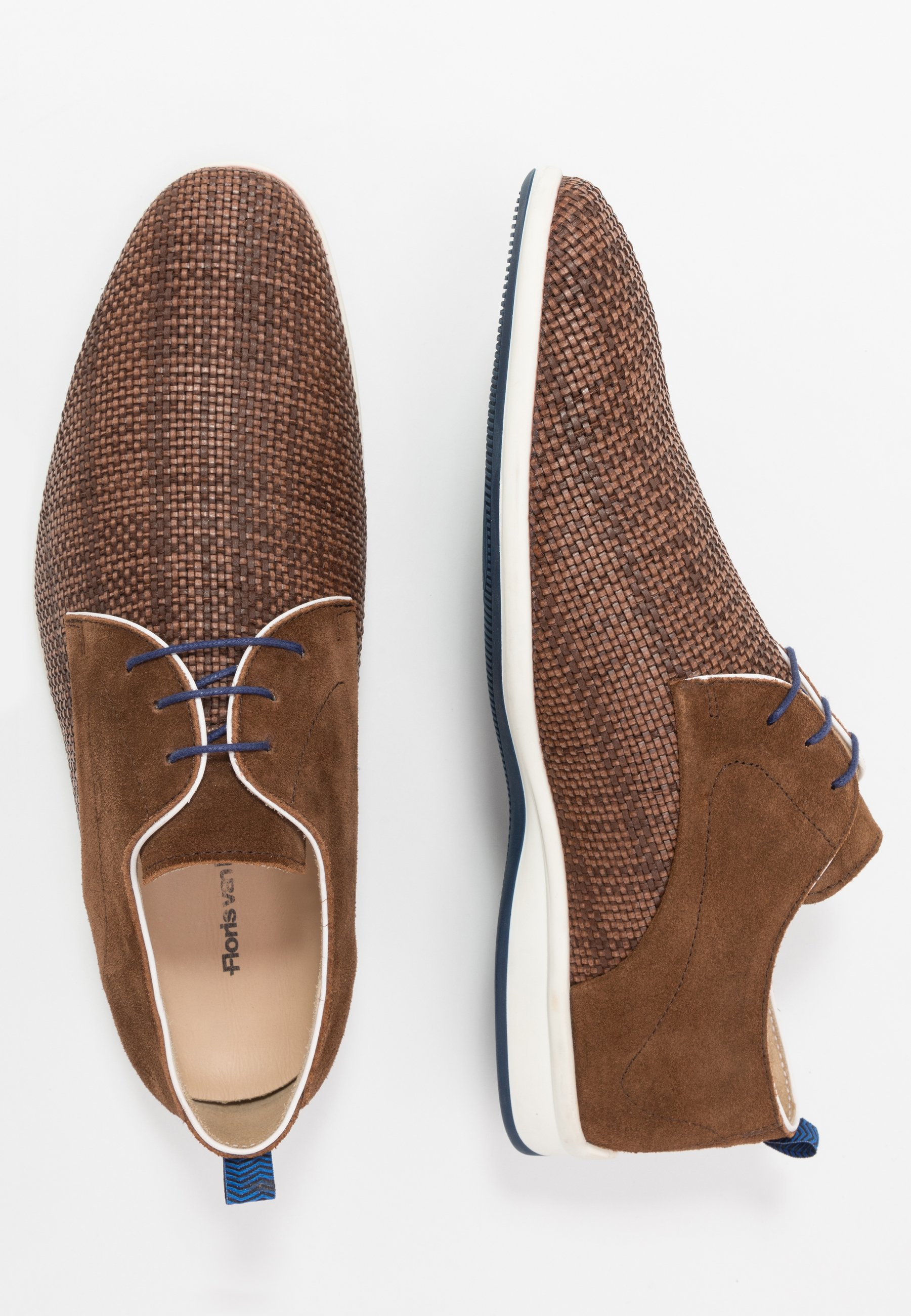 Floris van Bommel Chaussures à lacets - brown