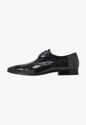 LACE SHOE CHRISTMAS SPECIAL - Snøresko - black