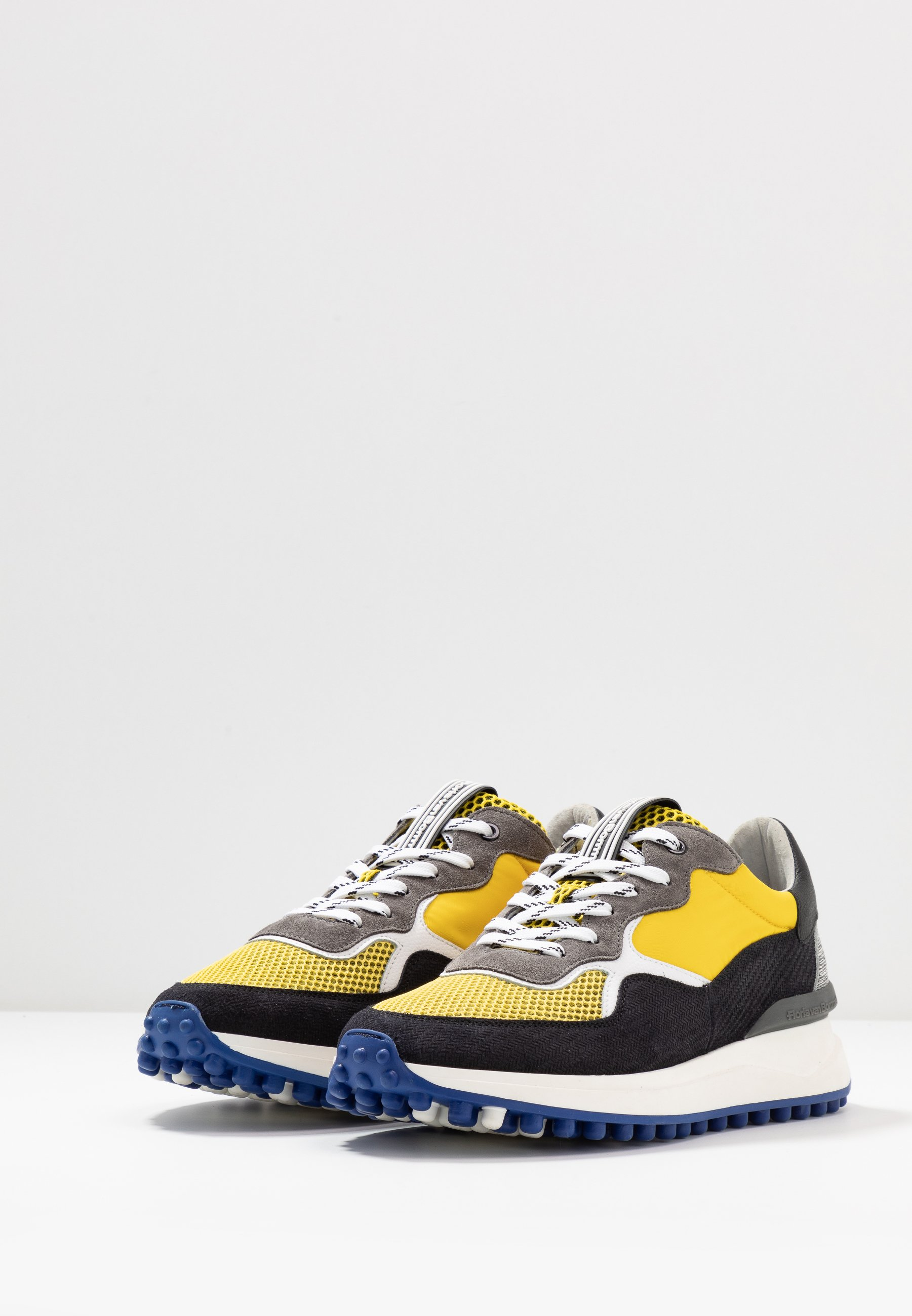 Floris Van Bommel Sneaker Low - Yellow Black Friday