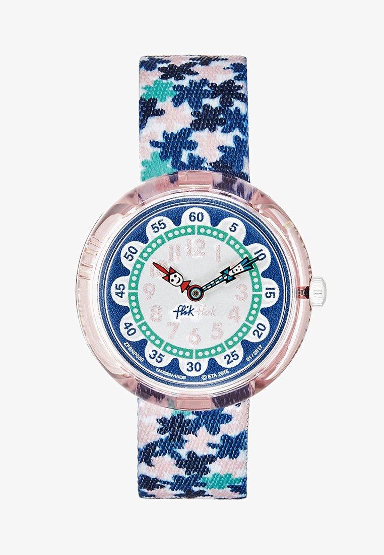 Flik Flak - LONDON FLOWER - Uhr - blau