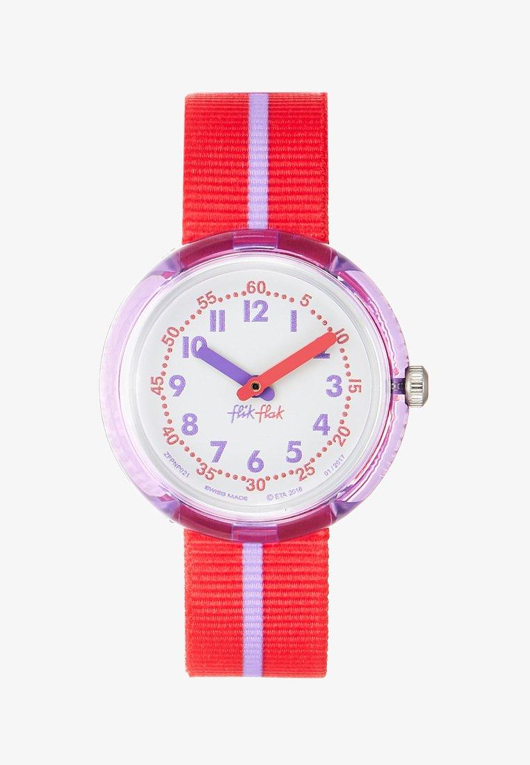 Flik Flak - COLOUR BAND - Uhr - rot