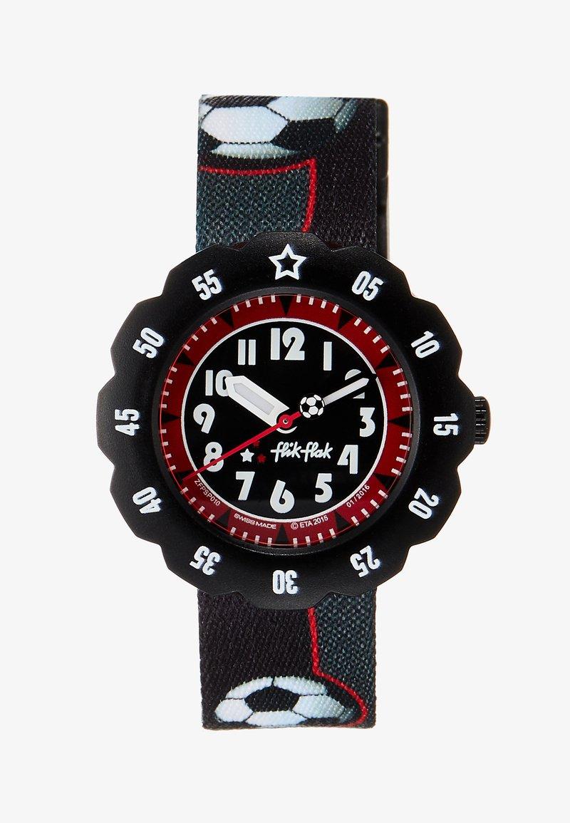 Flik Flak - SOCCER STAR - Uhr - schwarz
