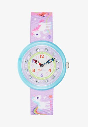 MAGICAL UNICORNS - Horloge - violett