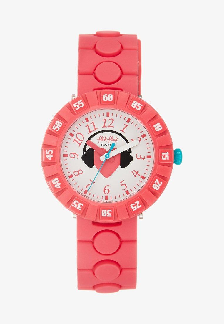 Flik Flak - ROCKBEAT - Uhr - pink