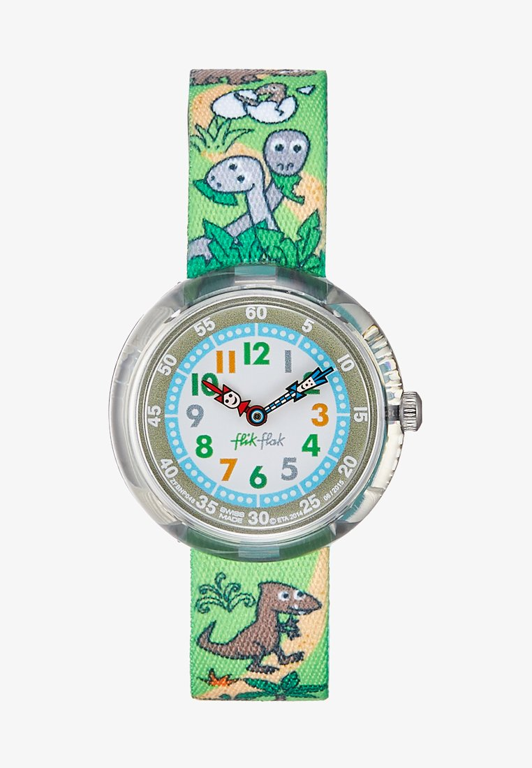 Flik Flak - SAURUSES RETURN - Uhr - green