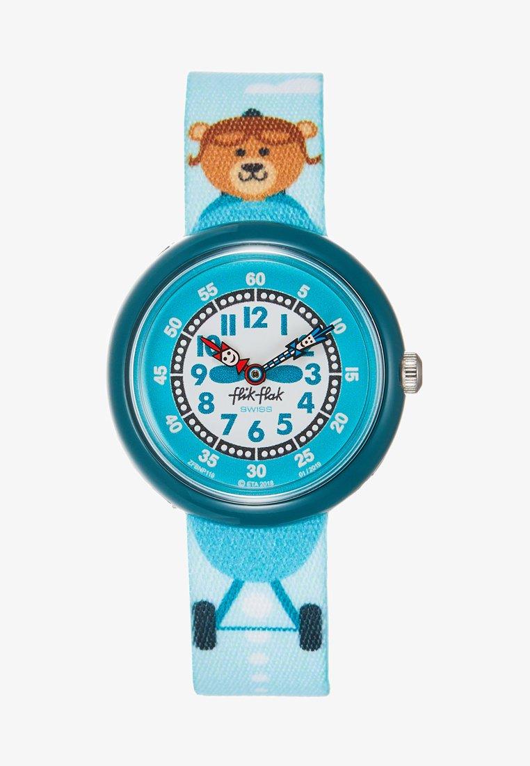 Flik Flak - AEROBEAR - Watch - blau