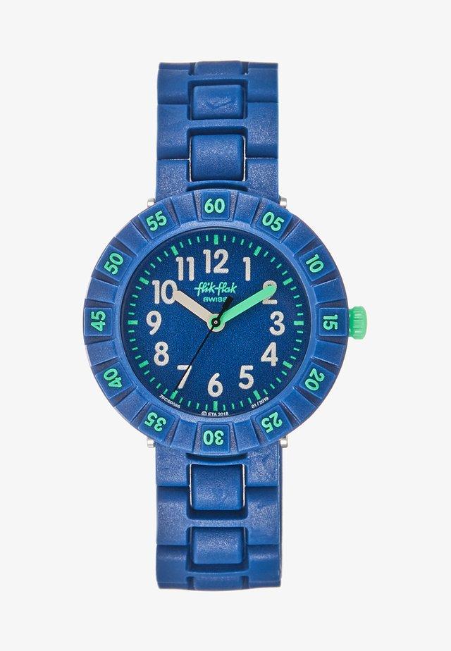SOLO BLUE - Hodinky - dunkelblau