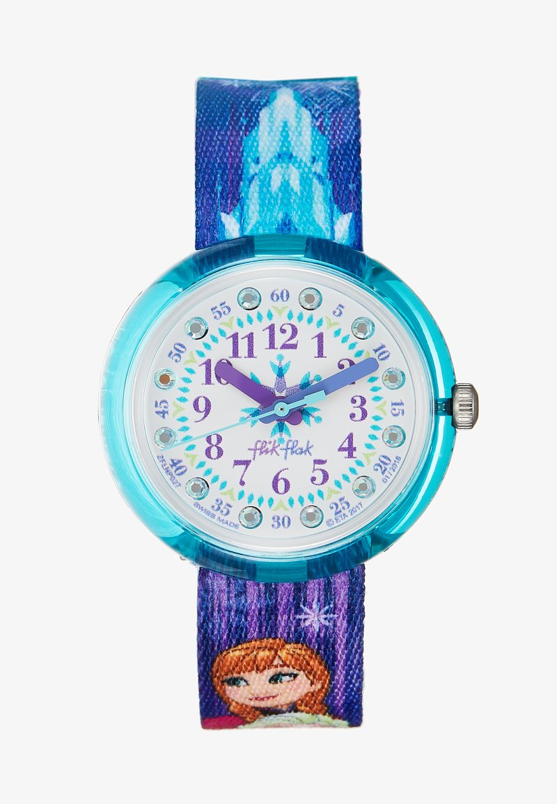 Flik Flak - DISNEY FROZEN WATCH - Montre - hellblau