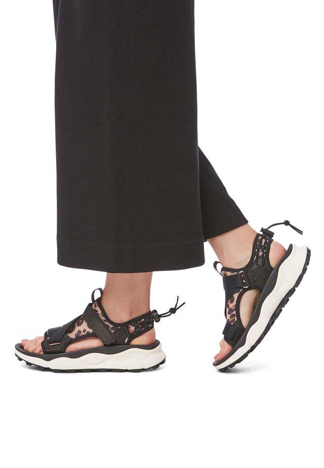 NAZCA - Sandales de randonnée - black