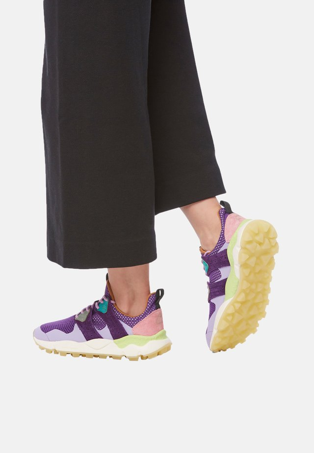 Baskets basses - violett