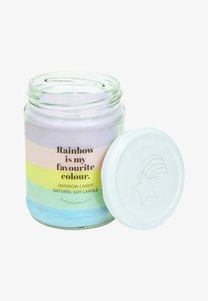 CANDLE - Duftlys - pastel rainbow