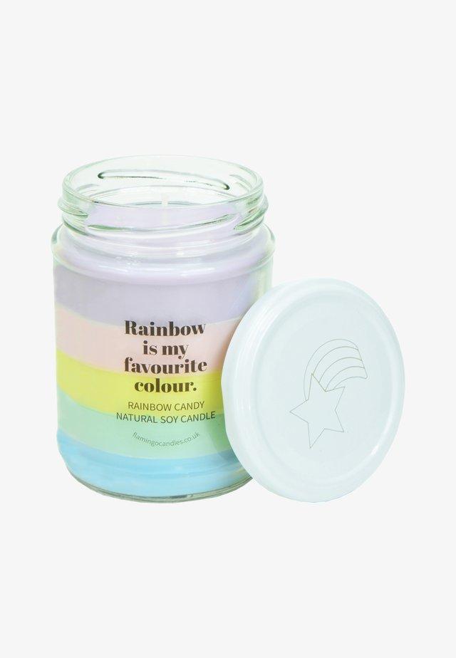 CANDLE - Doftljus - pastel rainbow