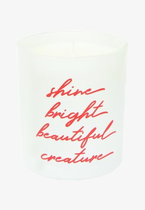 CANDLE - Scented candle - shine bright - white rose velvet & precious oud