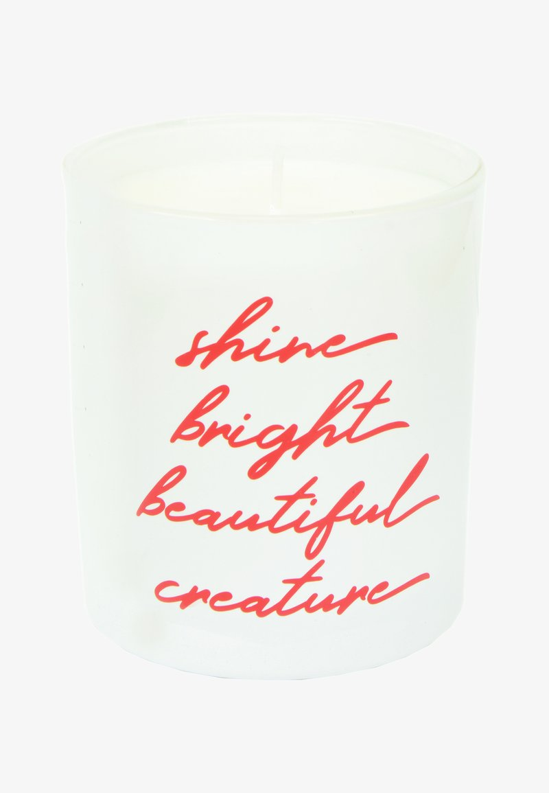 Flamingo Candles - CANDLE - Scented candle - shine bright - white rose velvet & precious oud