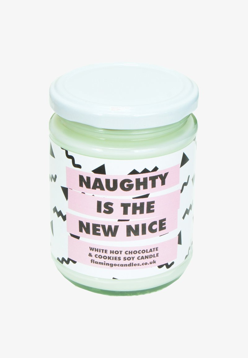 Flamingo Candles - CANDLE - Scented candle - naughty is the new nice