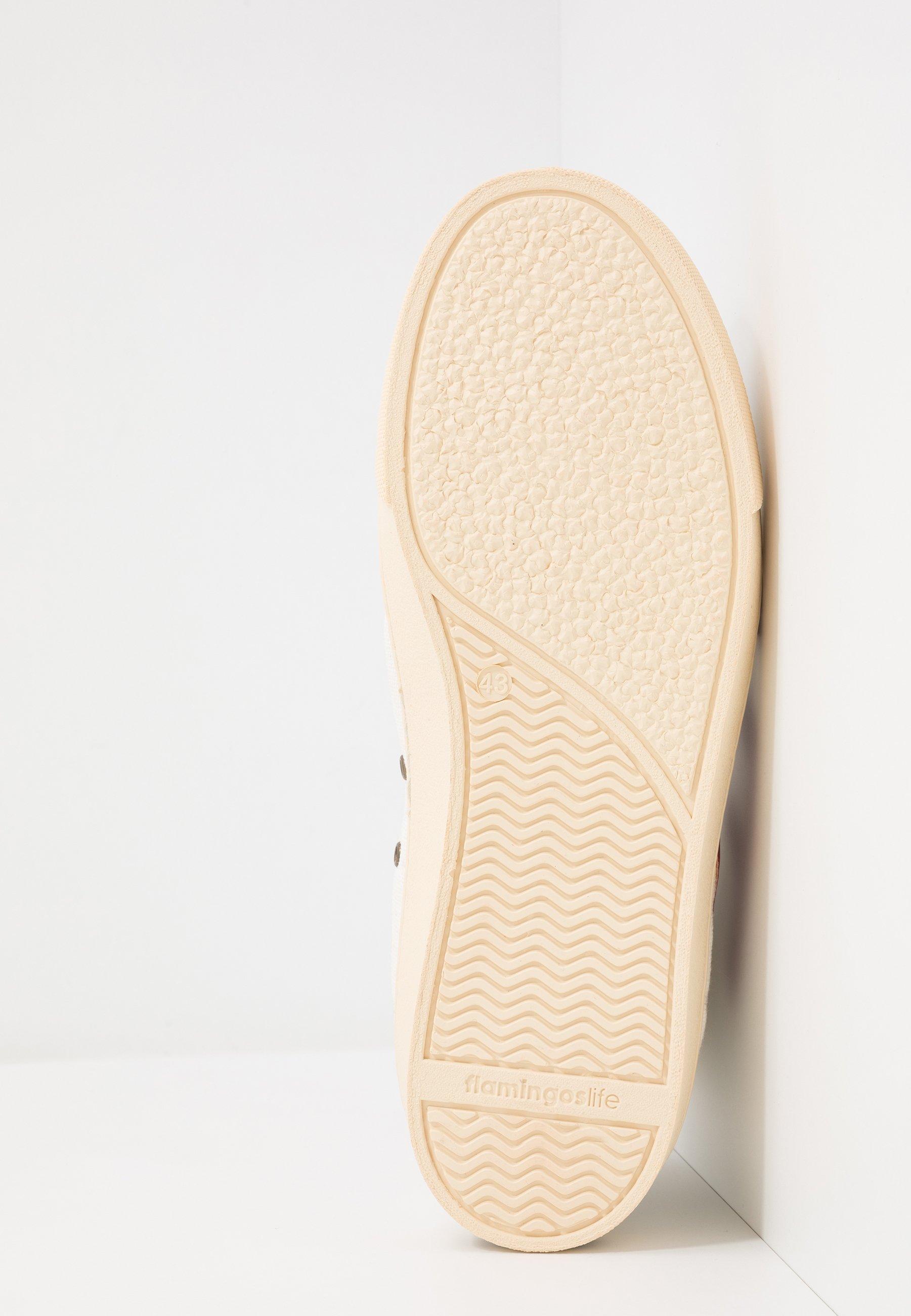Flamingos' Life El Camino - Sneakers Hoog Burgundy/ivory Goedkope Schoenen