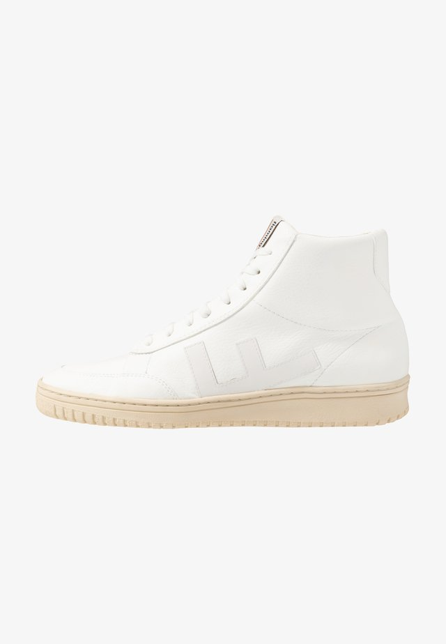 OLD 80'S - High-top trainers - all white