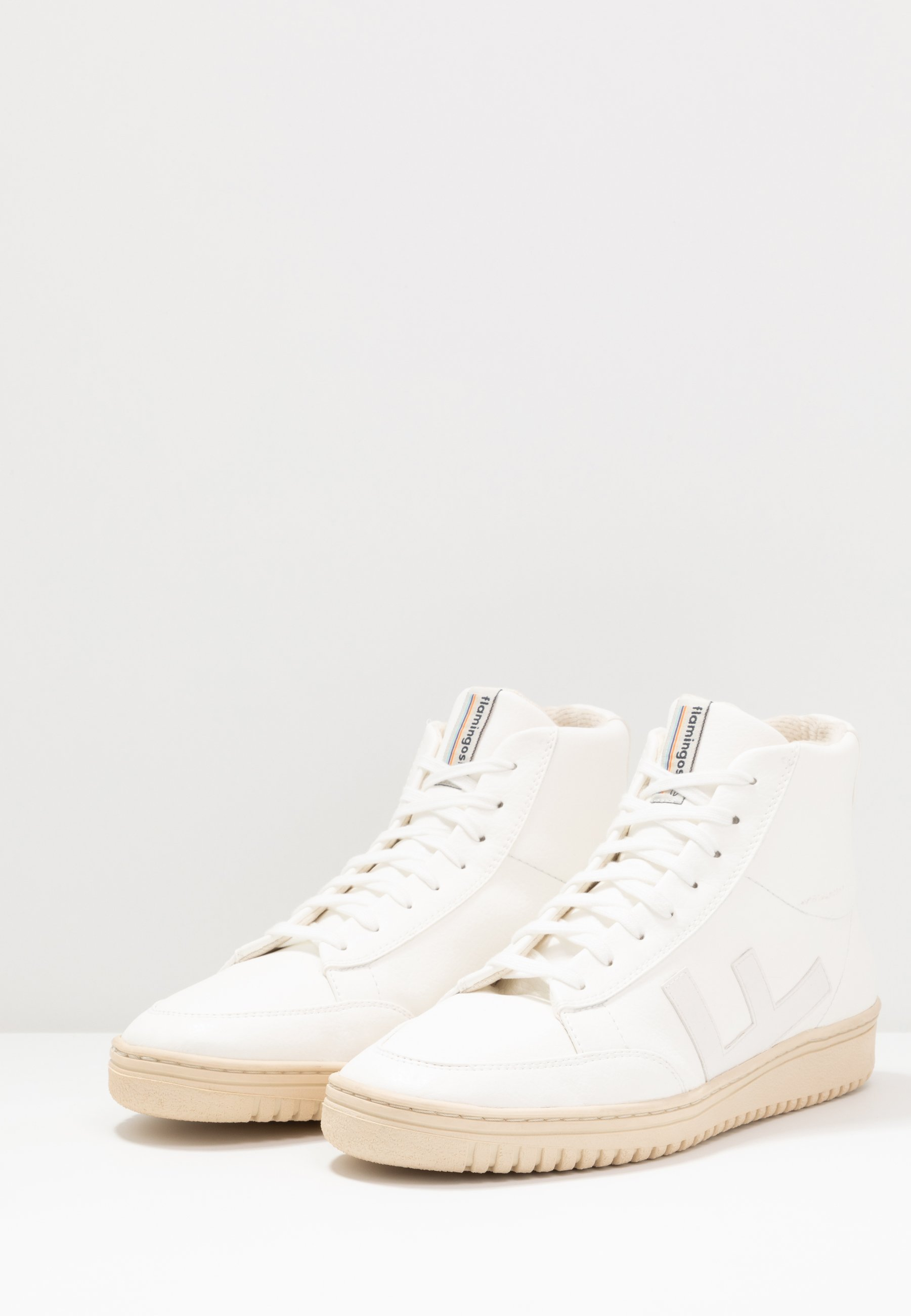 OLD 80'S Baskets montantes all white