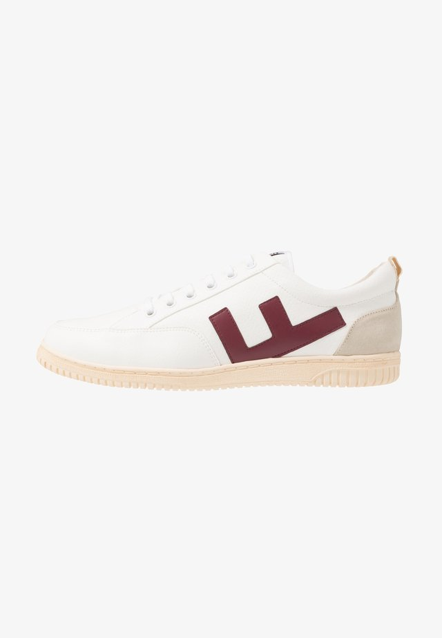ROLAND - Sneakers - burgundy/ivory