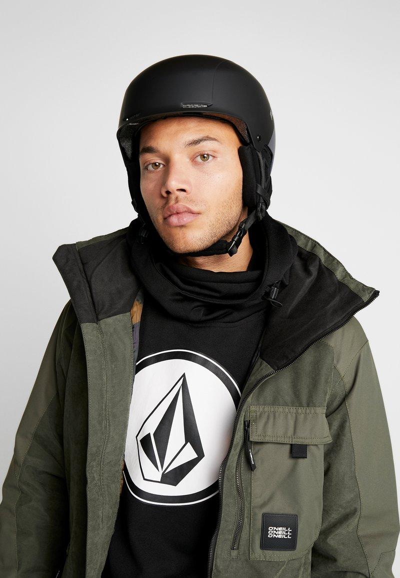 Flaxta - NOBLE - Helmet - black/dark grey