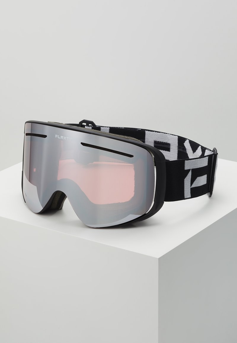 Flaxta - PLENTY - Ski goggles - black/white
