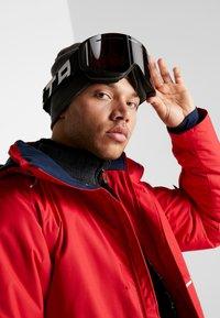 Flaxta - PLENTY - Ski goggles - black/white - 1