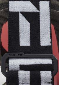Flaxta - PLENTY - Ski goggles - black/white - 2