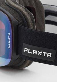 Flaxta - PRIME - Ski goggles - black - 2