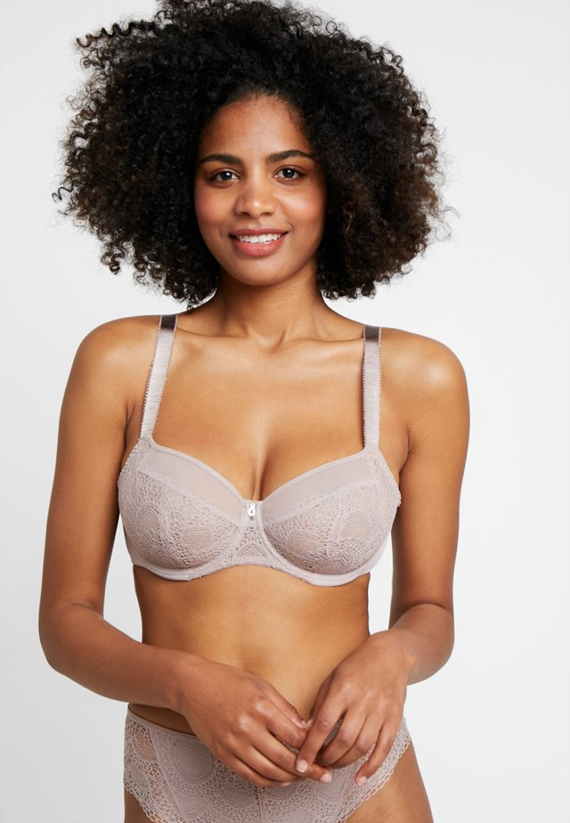 TWILIGHT SIDE SUPPORT BRA - Kaarituelliset rintaliivit - fawn