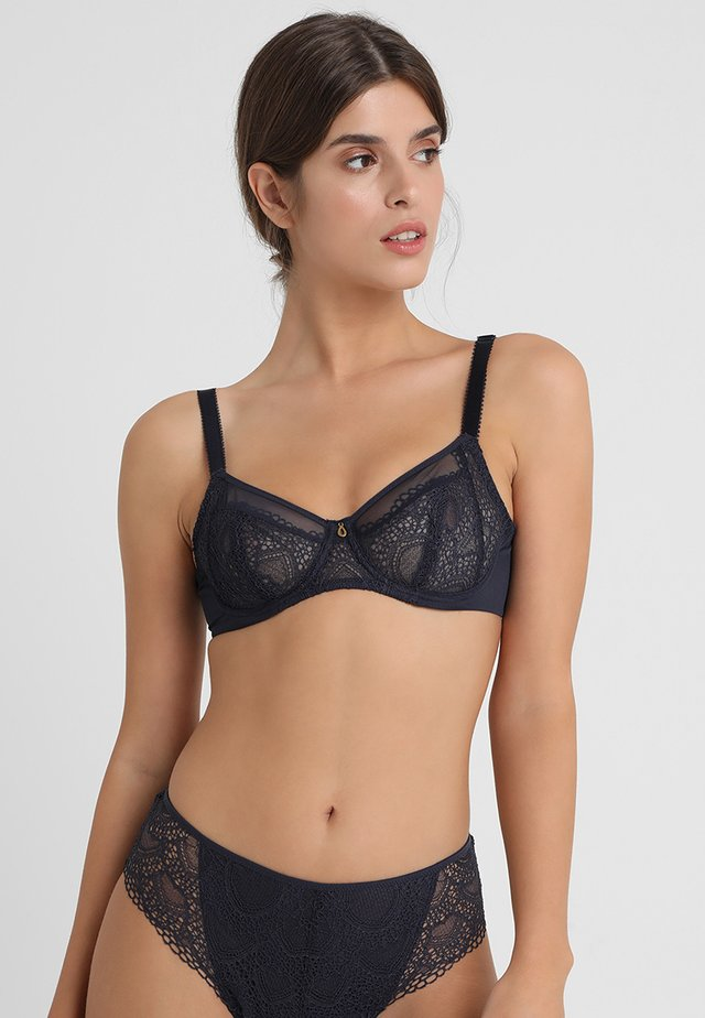 TWILIGHT SIDE SUPPORT BRA - Underwired bra - ink