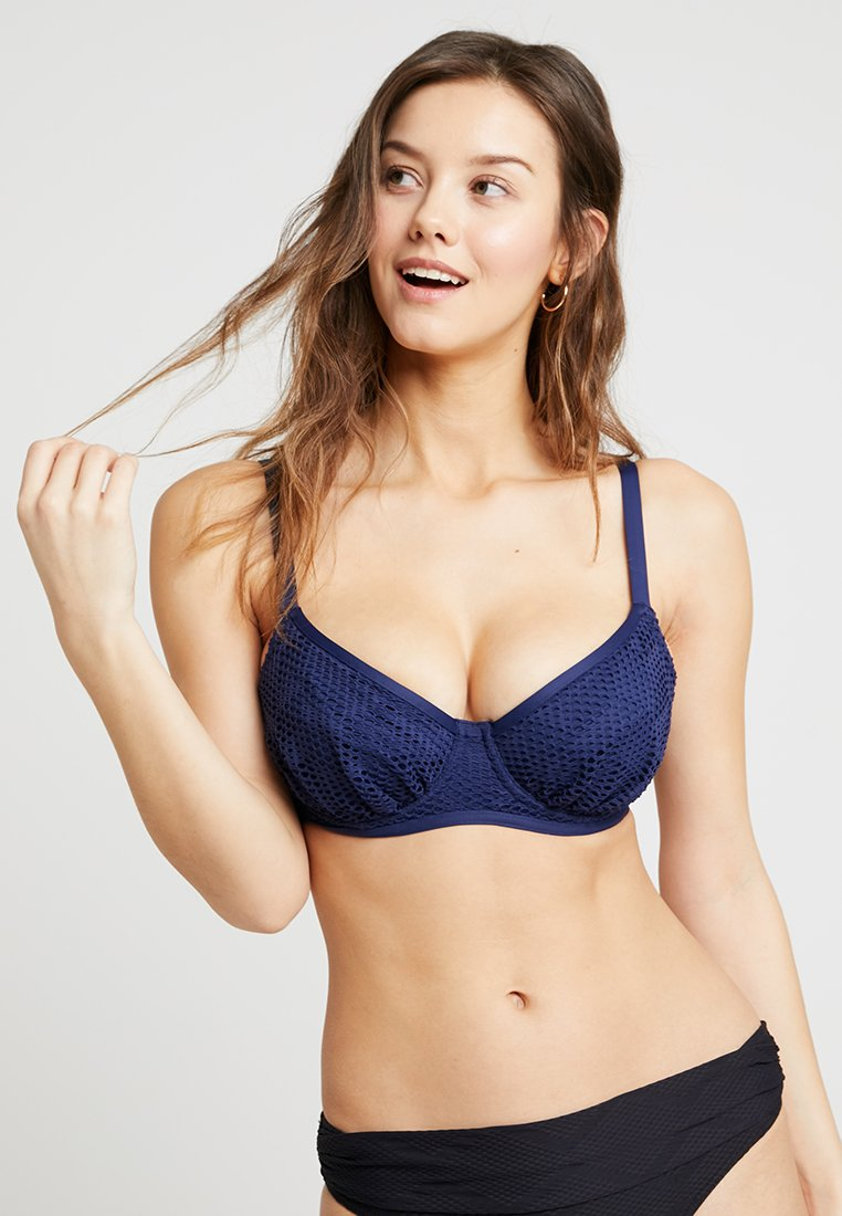 Fantasie - MARSEILLE GATHERED FULL CUP - Bikini top - twilight
