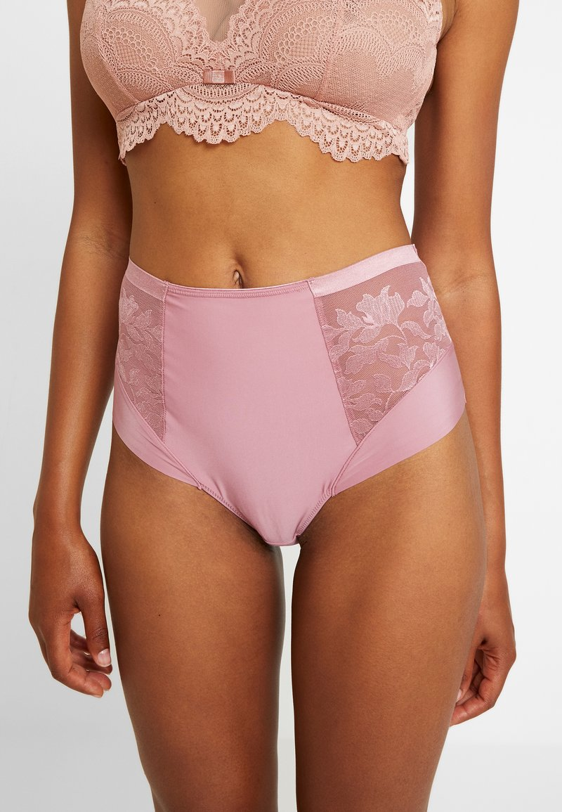 Fantasie - ILLUSION HIGH WAIST BRIEF - Kalhotky/slipy - rose