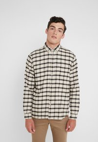 Folk - RELAXED FIT  - Chemise - ecru/ black windowpane - 0