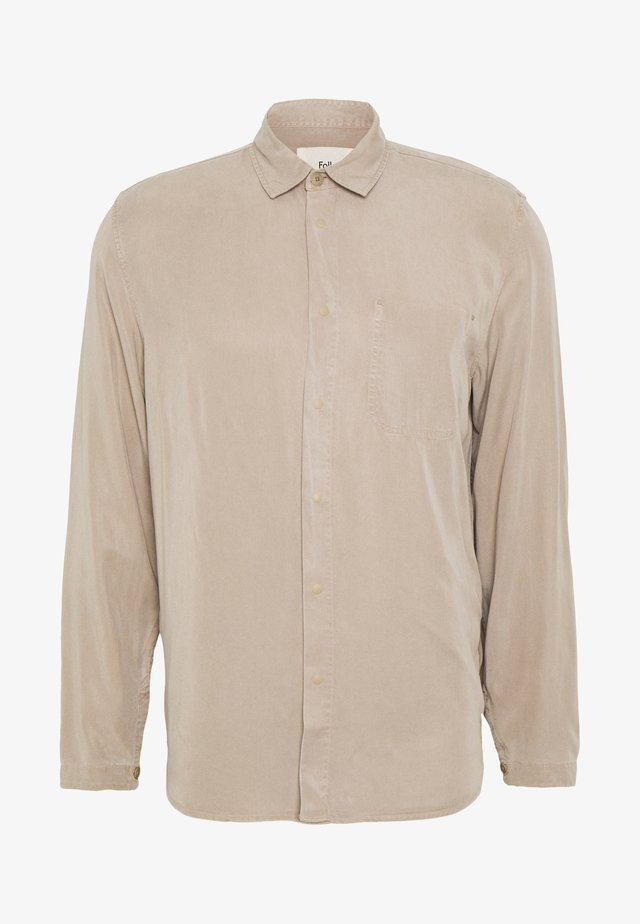 STITCH POCKET SHIRT - Shirt - fog