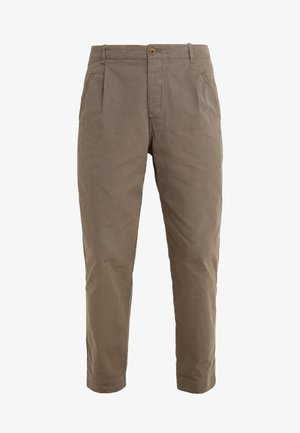 ASSEMBLY PANTS - Tygbyxor - khaki